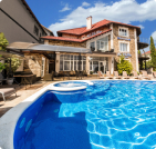 Отдых с бассейном в Веселовке